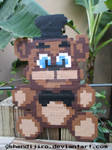 Freddy from FNAF | Bead Sprite | DIY Video