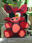 Foxy from FNAF   Bead Sprite   DIY Video