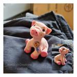 baby pig (sculpture)
