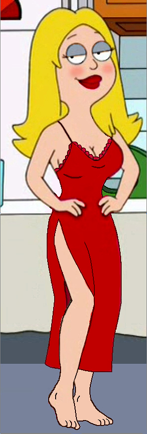 Francine In Red Nightgown by Homey104