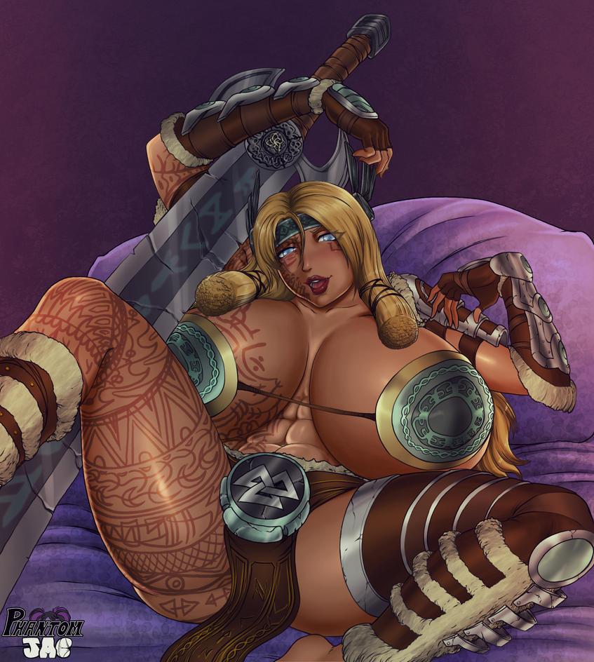 Freya is lewd by PhantomJAC