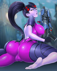 Thicc Widow by PhantomJAC