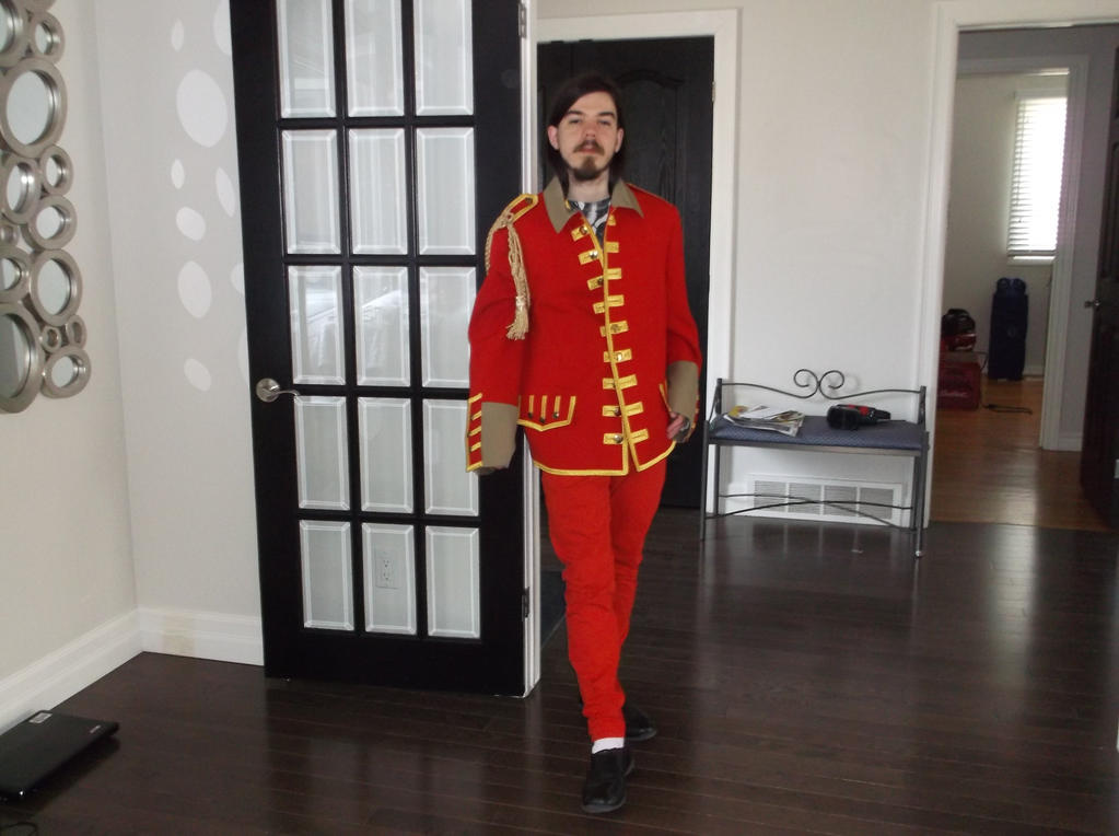 George Harrison from the Beatles cosplay by KingOfJin