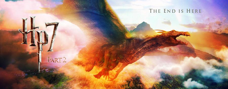 Gringotts Dragon Banner by jefferson-hp