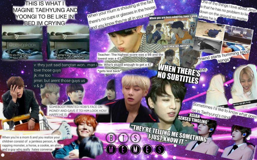 Hd Wallpaper Bts Meme Wallpaper Black