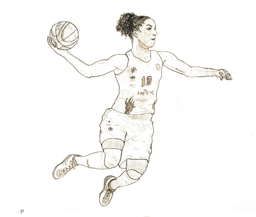 Basketball Girl By Dodie59 On DeviantArt
