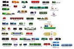 Wooden Railway Ideas - Part 1 by miipack603