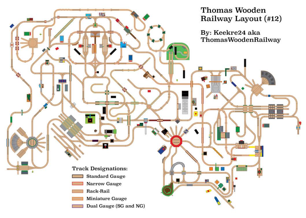 Happy 11-Year Anniversary, ThomasWoodenRailway! by miipack603