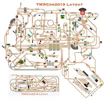 TWRCon2019 Layout Track Plan