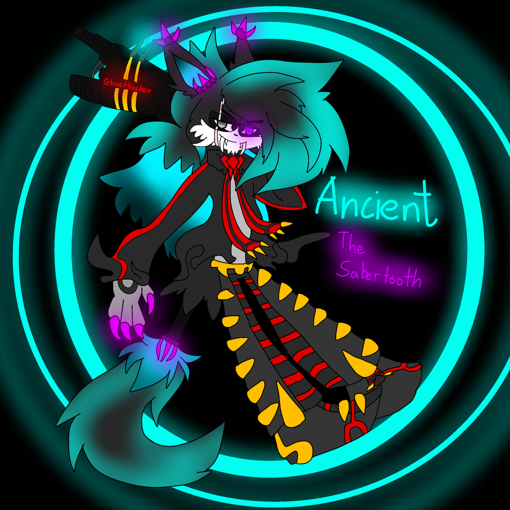 Ancient the Sabertooth by FireSnakeGaming13