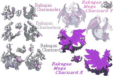 Preview Bakugan Charmander To Megas by FireSnakeGaming13