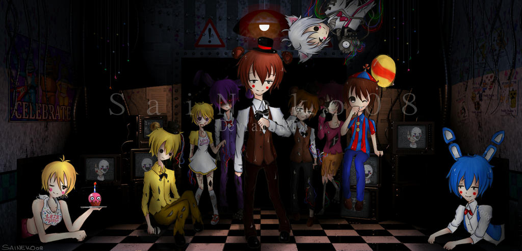 All in one five nights at freddy s 2 by saineko08 on deviantart
