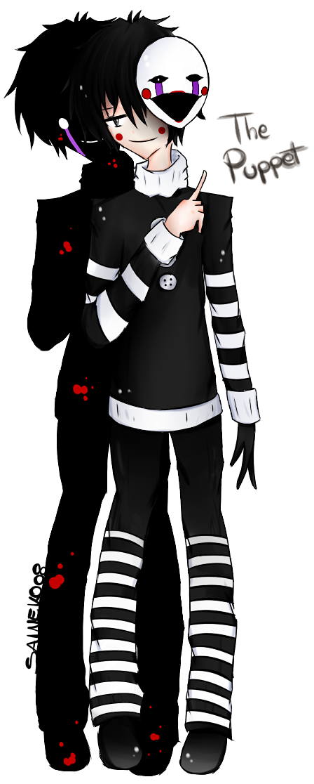 Five nights at freddys 2 marionette human