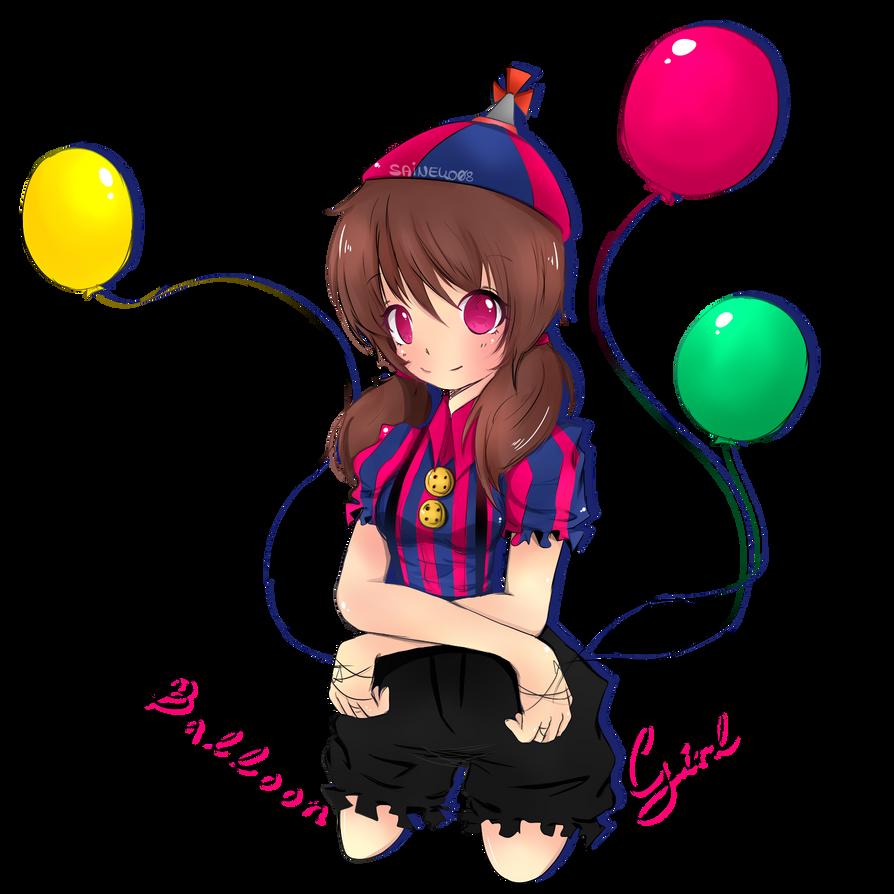 Balloon girl by saineko08 on deviantart