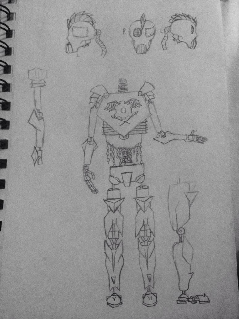 Robot concept by BlastShieldBuddy