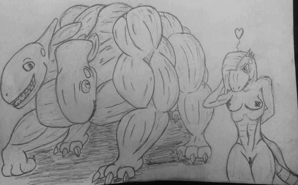 Dragon Duo by BlastShieldBuddy