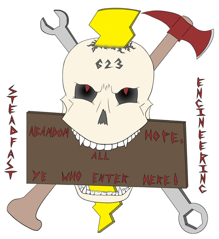 Abandon Hope Logo by BlastShieldBuddy