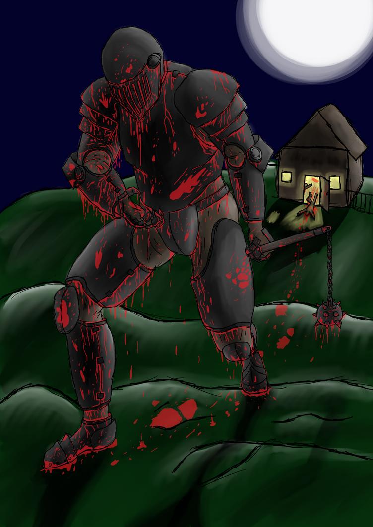 Halloween- Blood Curse by BlastShieldBuddy
