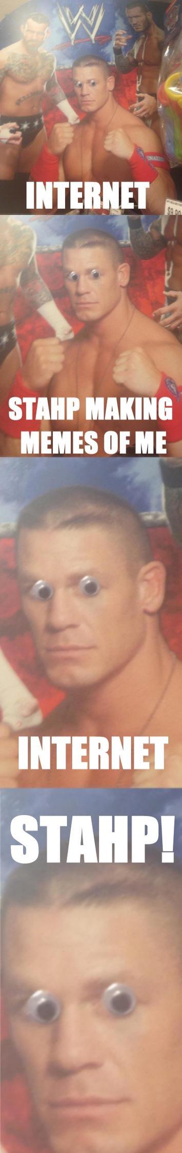 Cena has had it. by BlastShieldBuddy