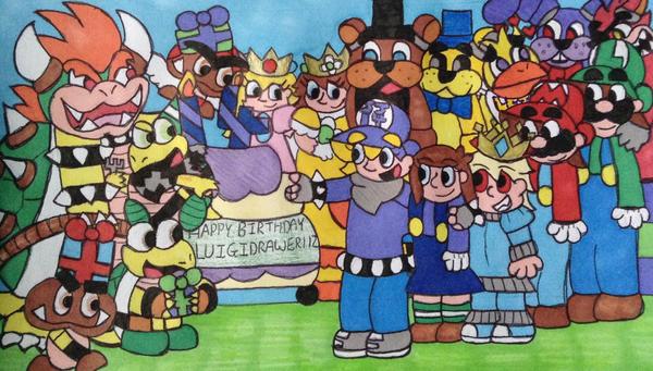Happy Birthday Luigidrawer112 by SJ14dahpurplehatgirl