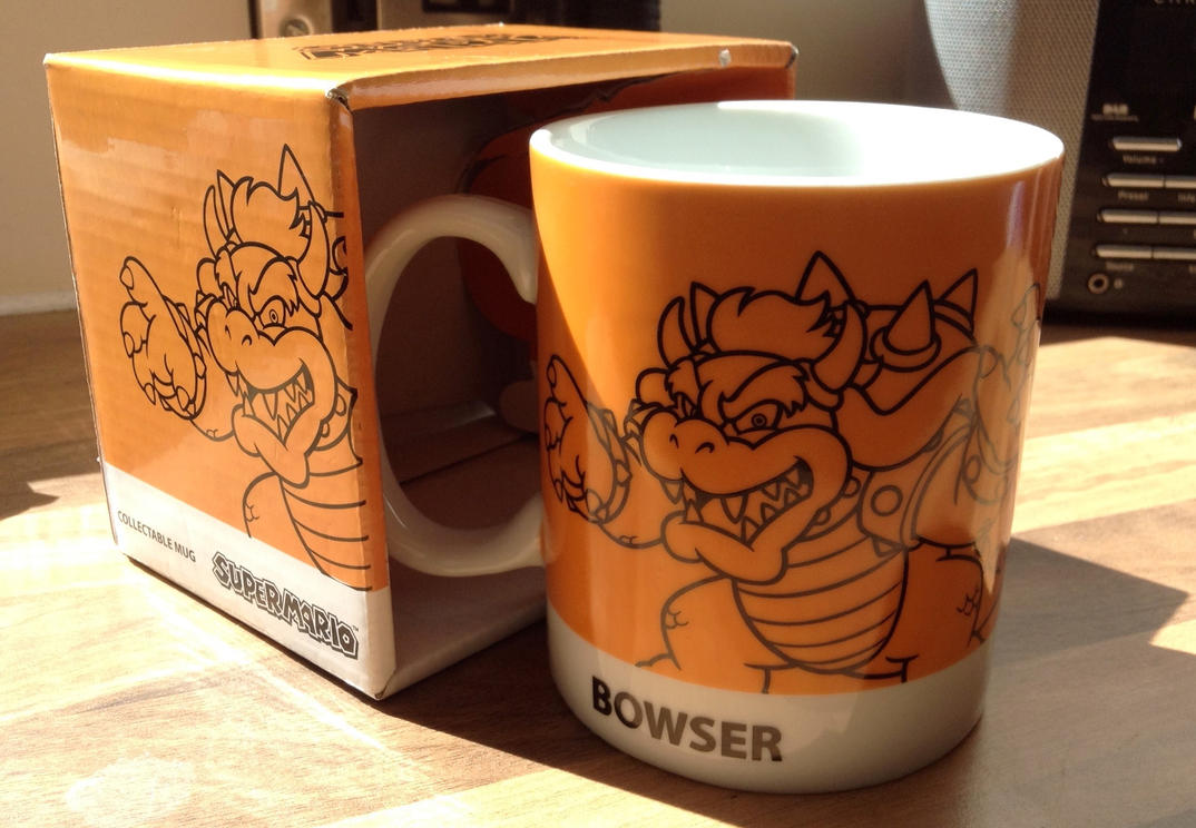 Gonna be drinkin coffee from the inside of Bowser. by StarJaws14
