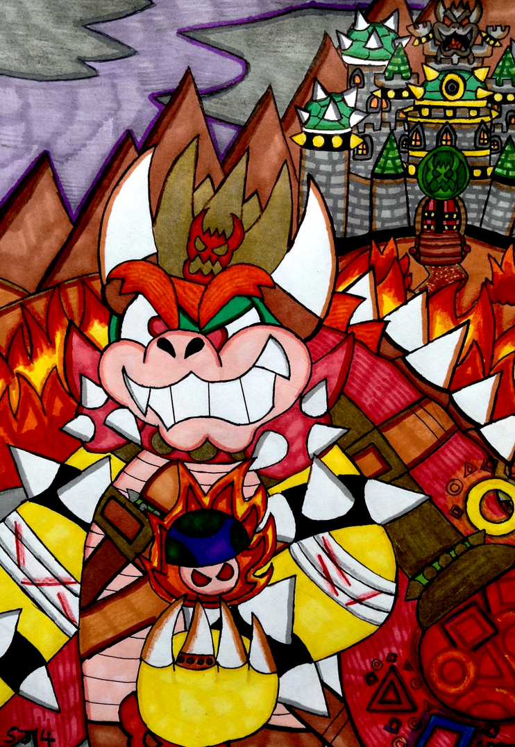 The Powerful King Of Koopas by SJ14dahpurplehatgirl