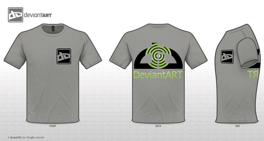 deviantWEAR T-shirt design by whendt