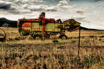 Old Farm Equipment HDR