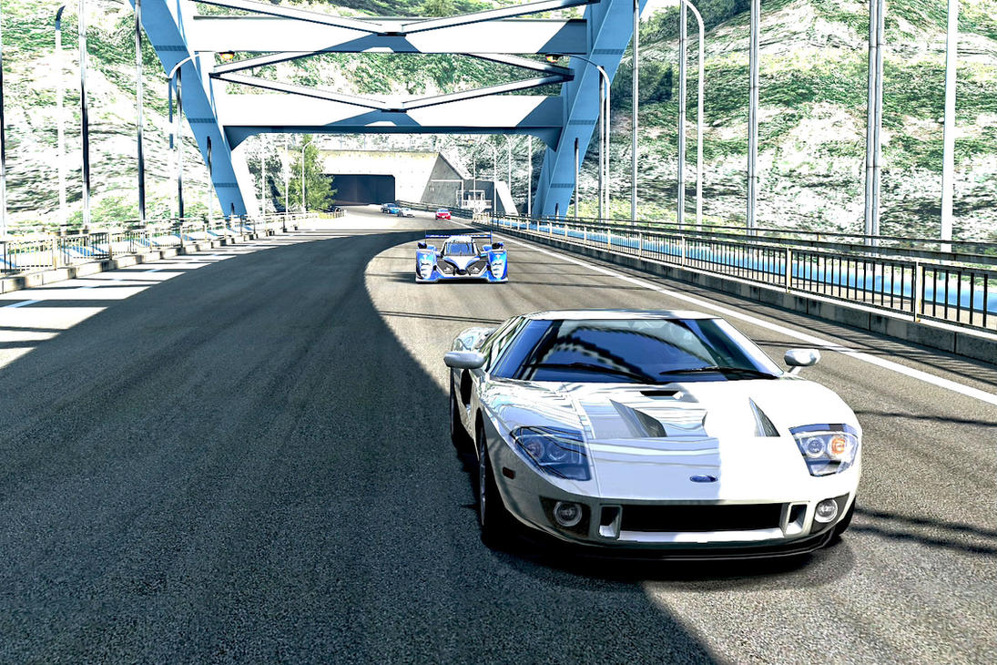 ford gt and peugeot 908 hdi fap 2010 gt5 by whendt - Ford Gt 2010