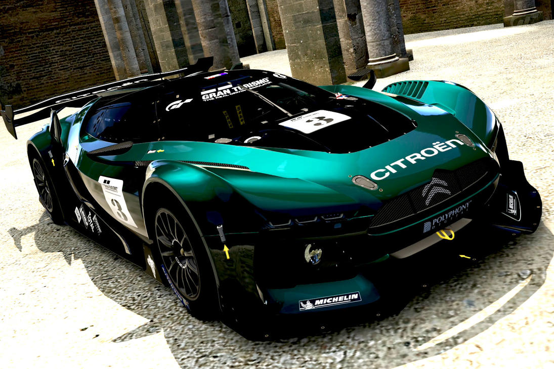 citroen gt race car gt5 by whendt on deviantart. Black Bedroom Furniture Sets. Home Design Ideas