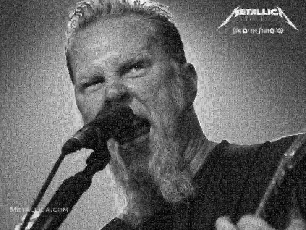 James Hetfield photo Mosaic by whendt