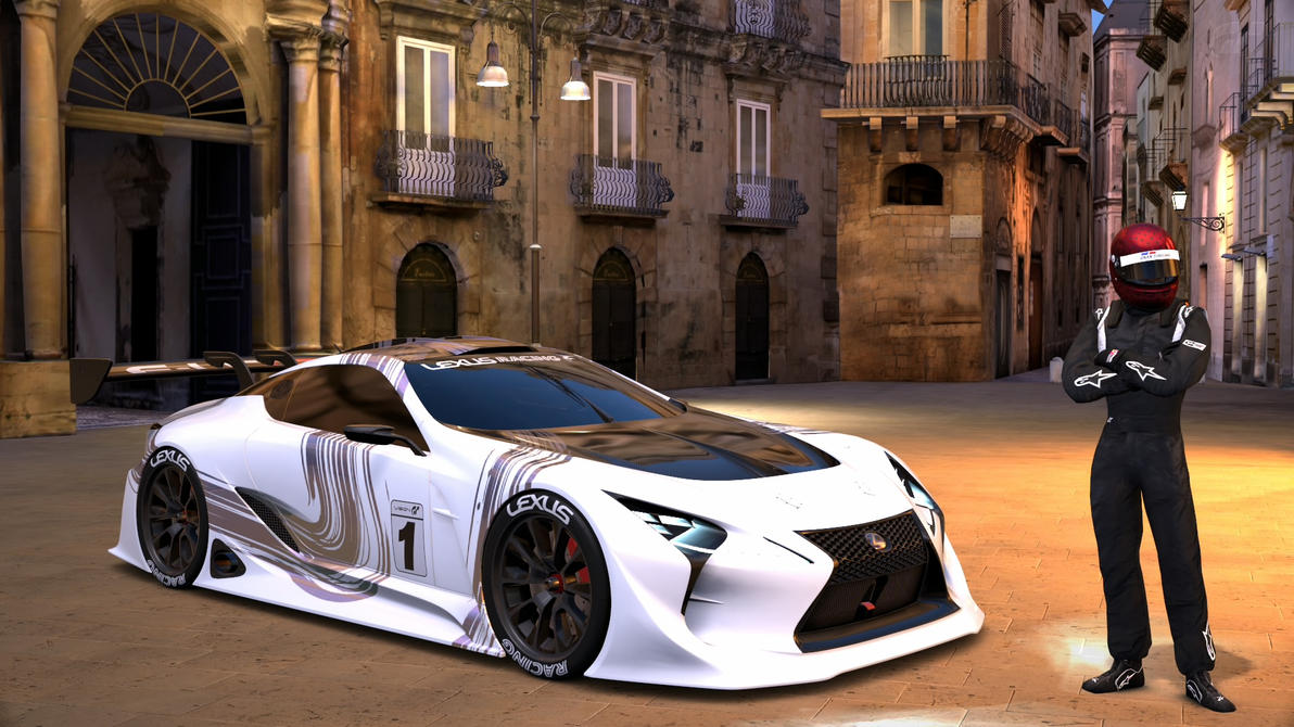 New Vision Lexus race car GT6 by whendt