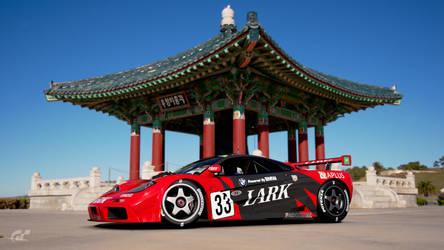 GT SPORT My LARK McLaren F1 replica livery design by whendt