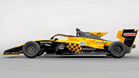 GT SPORT My New Renault F1 livery by whendt