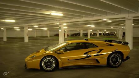 Lamborghini Diablo SV livery design by whendt