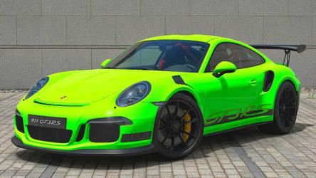 GT SPORT My Porsche 911 GT3 RS livery design by whendt