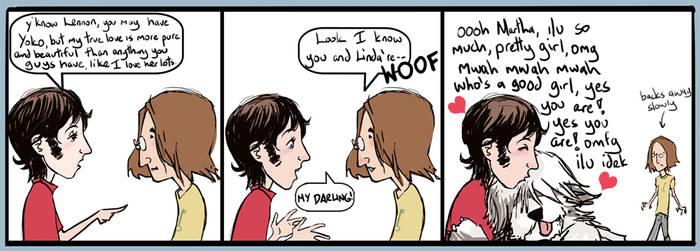 Beatles: Comicstrip 01