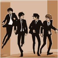 Beatles: run run run by lorainesammy