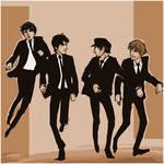 Beatles: run run run