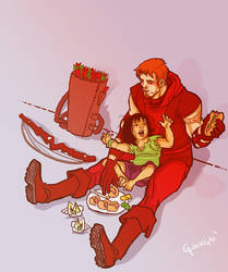 Roy and Lian Harper