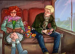 Rose Weasley and Scorpius Malfoy