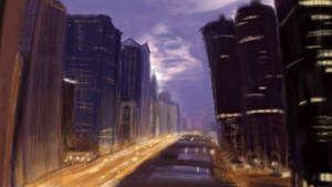 Cityscape Evening Project