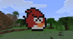 Minecraft angry bird