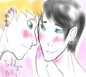 TeddyxBilly by UchihaKurai0oa