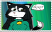 Kristy Katty Kat stamp by Geellick