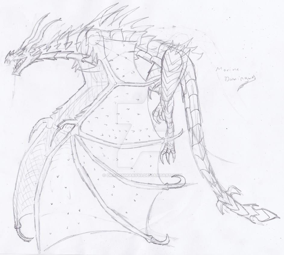 Alduin, Of Skyrim By Dragonmary99 On DeviantArt