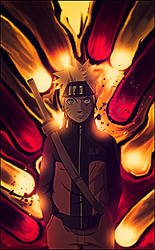 [Smudge] Naruto Uzumaki by JLEditions