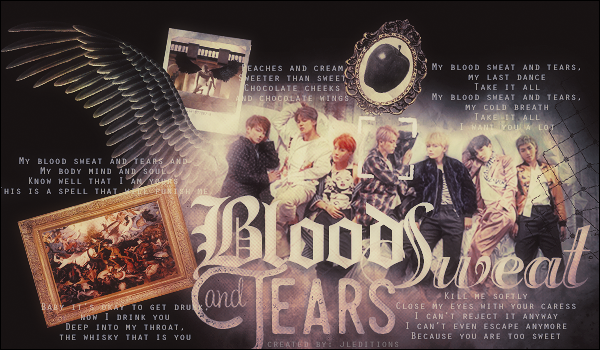 [Signature] BTS - Blood Sweat and Tears by JLEditions