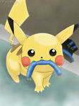 Pikachu - Caught in the Act