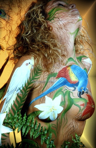 Bodypainting Woman by iacubino